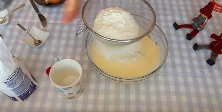 Блины на кислом молоке