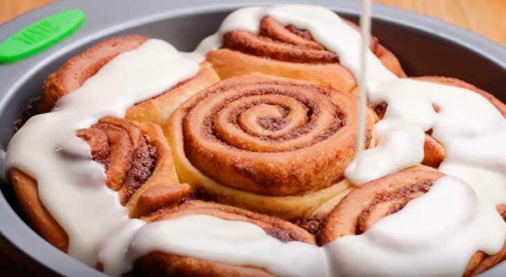 Короткий рецепт булочек синабон в домашних условиях