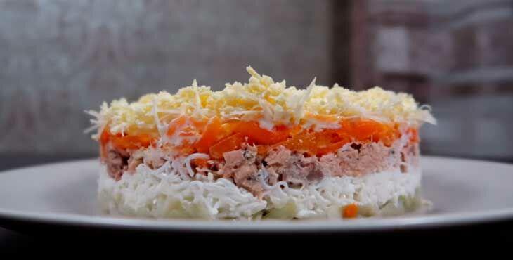Салат Мимоза - настоящий классический рецепт с пошаговым фото. Секреты, как приготовить салат Мимоза.