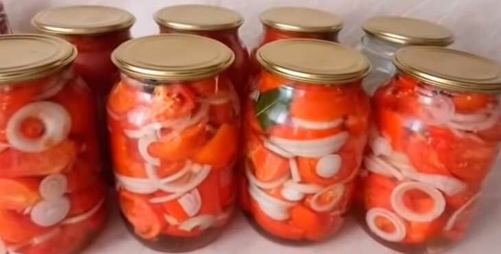 Как закрывать сладкие помидоры