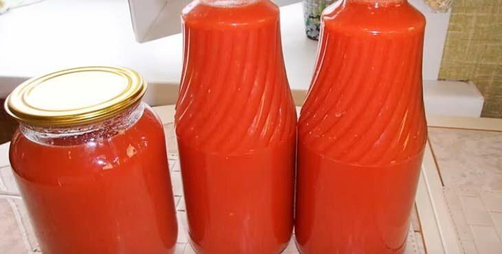 Томатный сок на зиму - делаем вручную из помидор