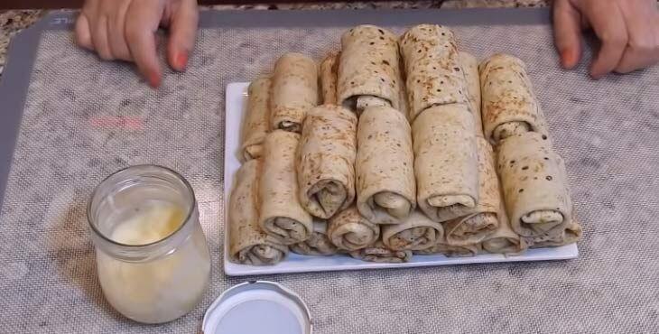 Мясная начинка для блинчиков - пошаговый рецепт с фото